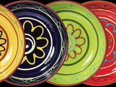 Dekoschalen 4-farbig