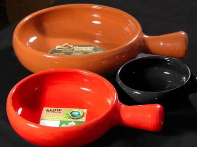 Keramik Pfannen flach