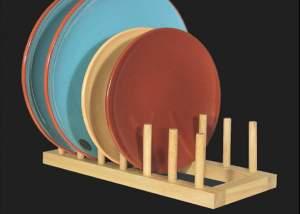 Tellerständer aus Holz