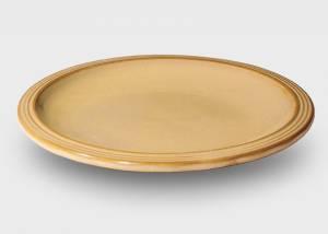 Großer Teller beige