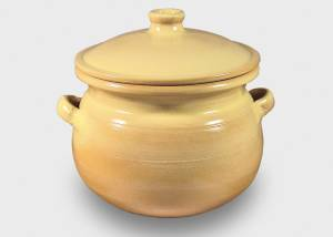 Kochtopf - beige, 7 Liter